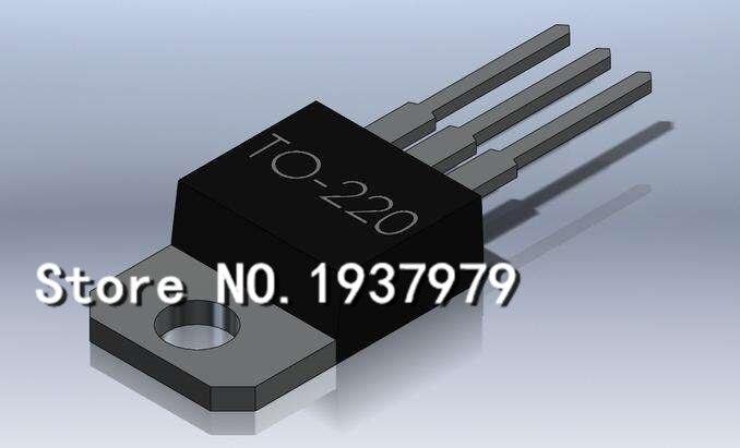 50 PÇS/LOTE IRF710 STP55NF06L 04N03LA IRF630M IRF630 TO220 TO-220