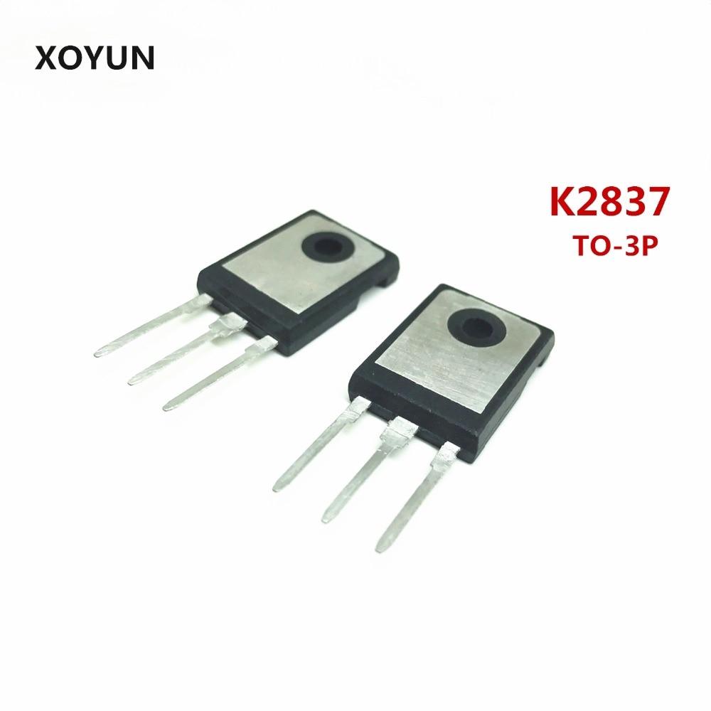 10 unids/lote K2837 2SK2837 TO-3P nuevo