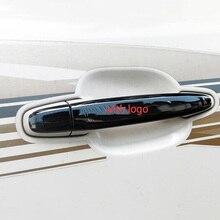 3 couleurs en acier inoxydable poignée de porte style couverture Protection garniture pour Toyota Land Cruiser Prado FJ120 accessoires 2003-2009