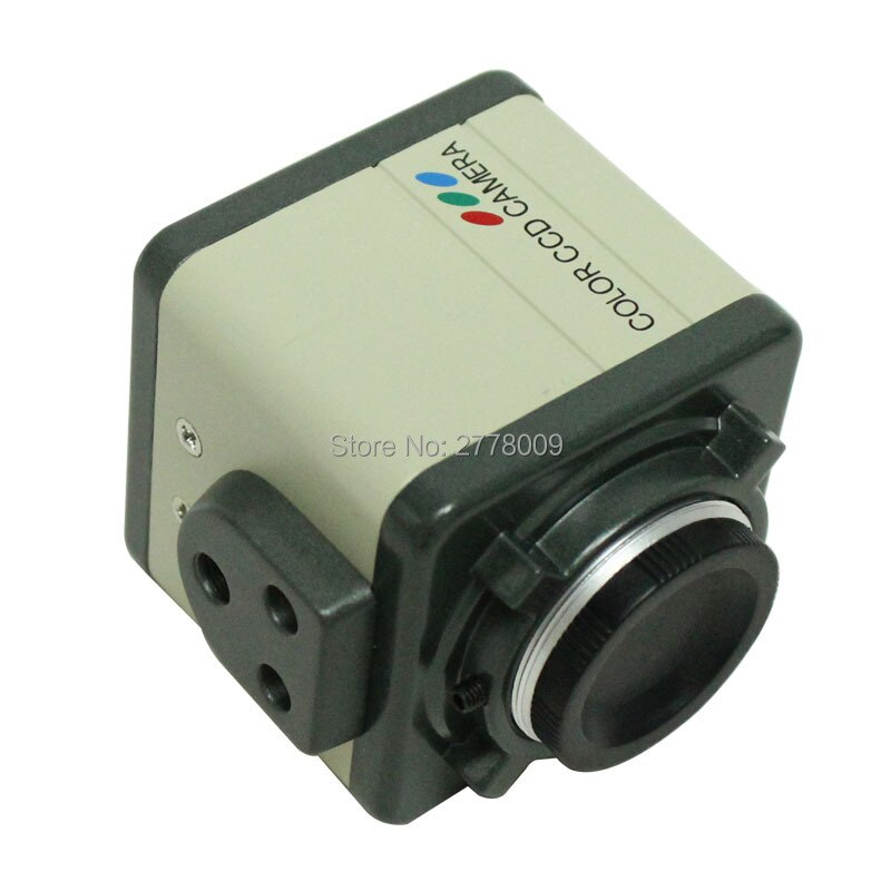 "800TVL 1/3 ""CCD Digital Industrie Mikroskop Kamera Set CS C-mount-objektiv Unterstützung BNC Farbe Video F SMD BGA PWB löten"
