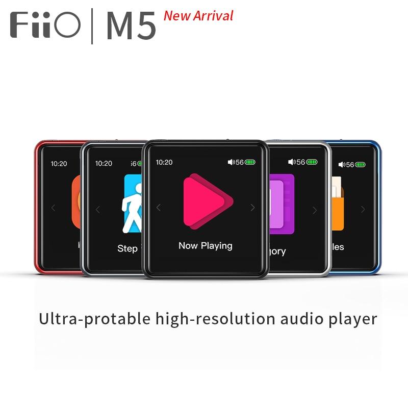Reproductor FiiO M5 HiFi MP3   AK4377   CSR8675   32bit/384kHz   DSD128 nativo   pantalla táctil   aptX/LDAC transmisión/recepción   USB DAC   compatible con llamadas