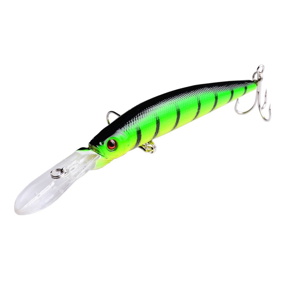 6pcs Big Minnow Fishing Lures Bass CrankBait Hooks 14.5cm 14.7g Isca Artificial Plastic Fishing Tackle Fishing Wobblers YUZI enlarge