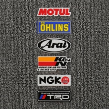 Étiquette autocollante réfléchissante moto   Étiquette décorative latérale, pour moto, bricolage, tmax 550 530 500 550