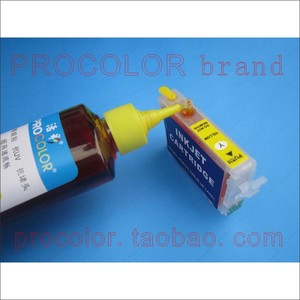 PROCOLOR New refill Refillable Ink cartridge  Europe AREA,T1801-4,T1811-4 with Auto Reset chips for epson XP-402/212/312/412/205
