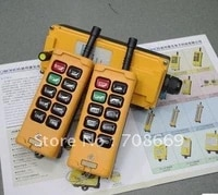 hs 10 2 transmitters 4 motions 1 speed hoist crane truck remote control system 110vac