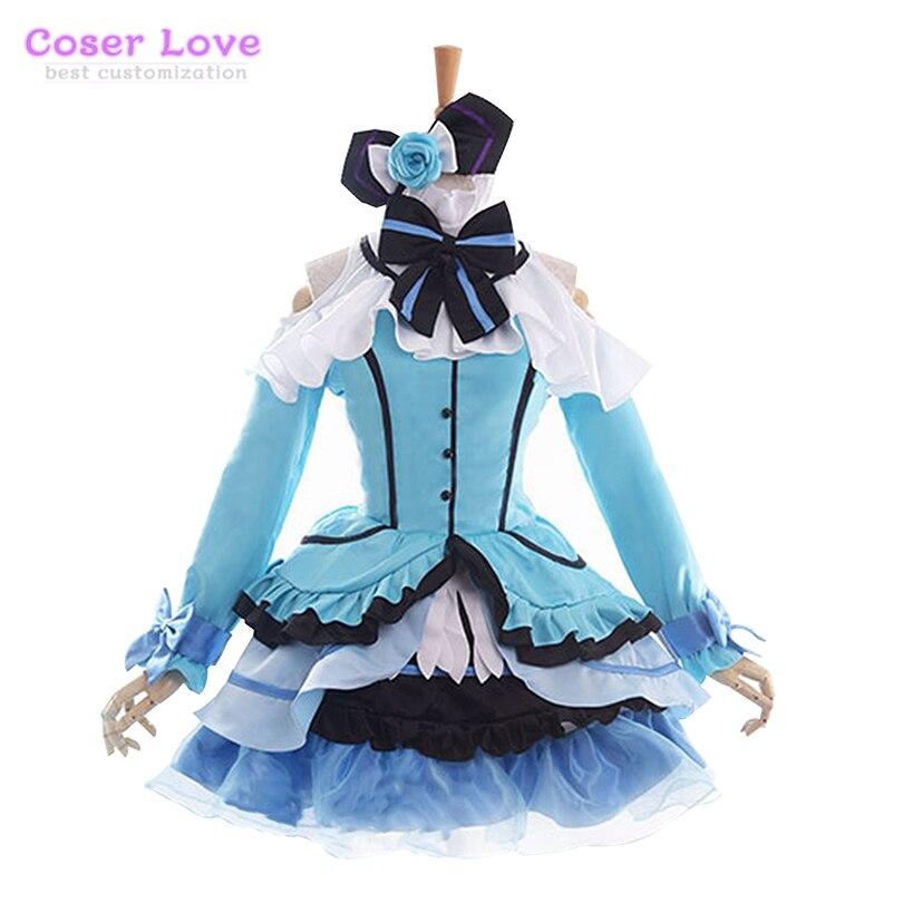 ¡LoveLive! Disfraz de Cosplay assur-kira Sensation Ayase Eri carnaval Halloween Navidad
