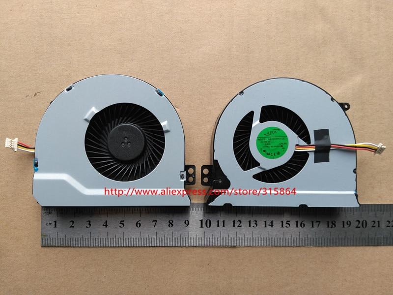 Nuevo ventilador de refrigeración de cpu para ordenador portátil para DELL inspiron 14 7447 0562v6 AB7205HX-GC1