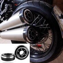 Motorrad Zubehör RNineT R9T CNC Aluminium Auspuff Tip Tail Abdeckung Protector für 2014-2016 BMW R Neun T 2015 14-16