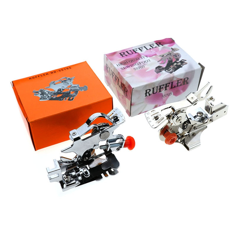 Máquina de coser YOKOYAMA hogar multifuncional Material grueso Material fino prensatelas plisadas en caja suministros de costura