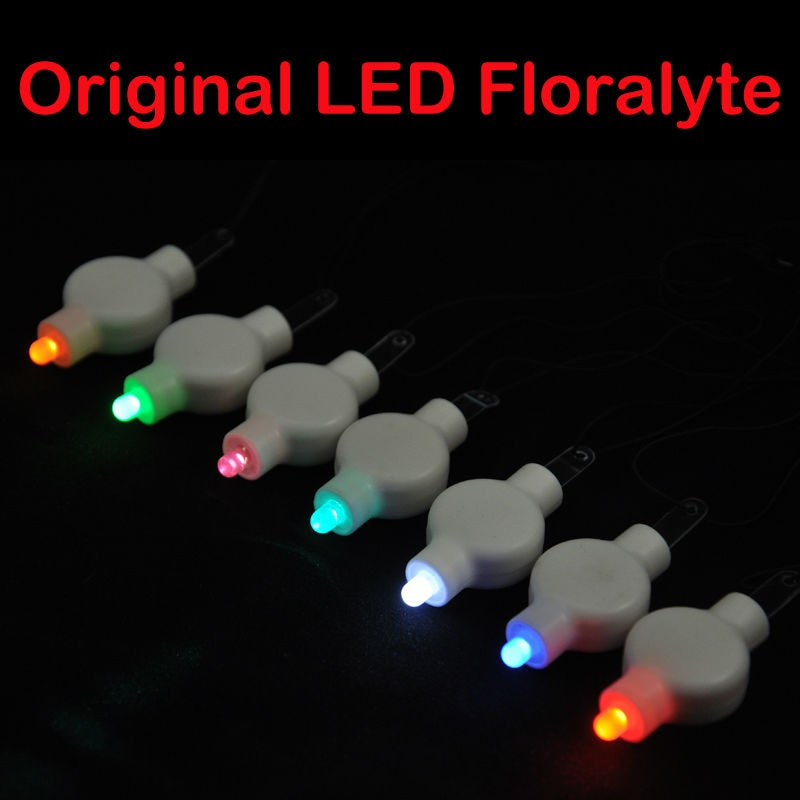 Oferta directa de fábrica 100 unids/lote Multi-color 2CR2032 baterías LED linterna de papel Luz Para arreglo de flores