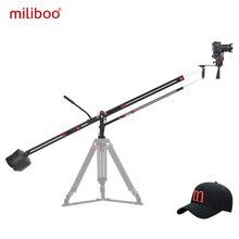 Алюминиевый кран для камеры miliboo MYB501, 3,1 м, складной Extanble Compact 75 мм и 65 мм размер чаши для цифровой зеркальной камеры, нагрузка 8 кг