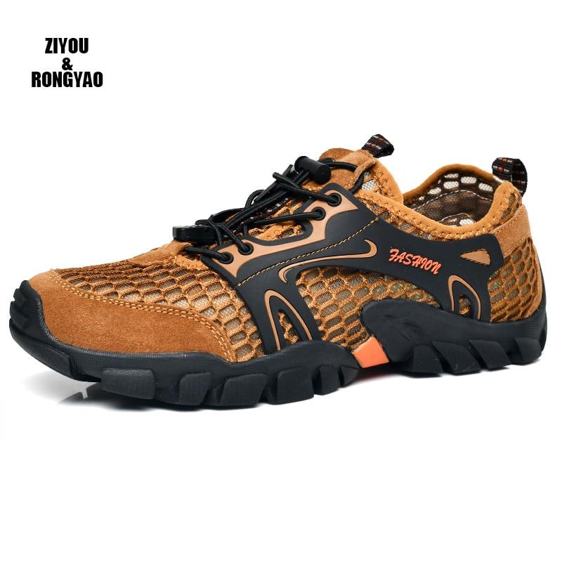 2019 Summer Sneakers Breathable Men Casual Shoes Masculino Men Leisure Shoe mens sandals mesh water shoes laceup men sneakers
