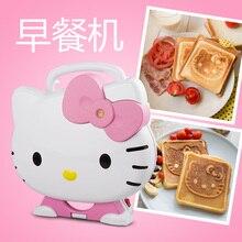 SW0054 в подарок, электрическая машина для выпечки хлеба с кошачьими вафельками
