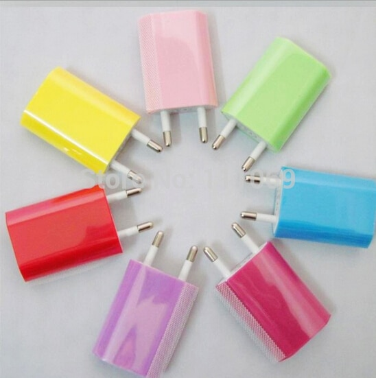 20 unid/lote UE nos USB cargador de pared para iPhone 6 De...