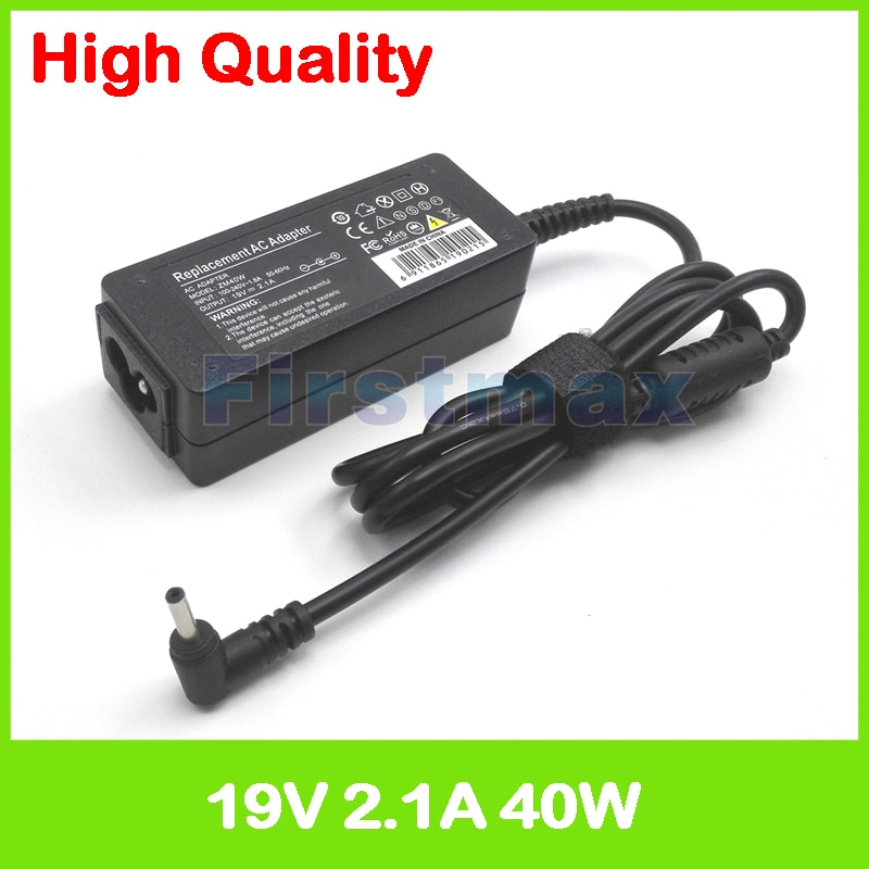 19 v 2.1A AC power adapter AA-PA3NS40 AD-4019A AD-4019P ADP-40MH AB ADP-4019W carregador portátil para Samsung NP940X3L NP940X5J
