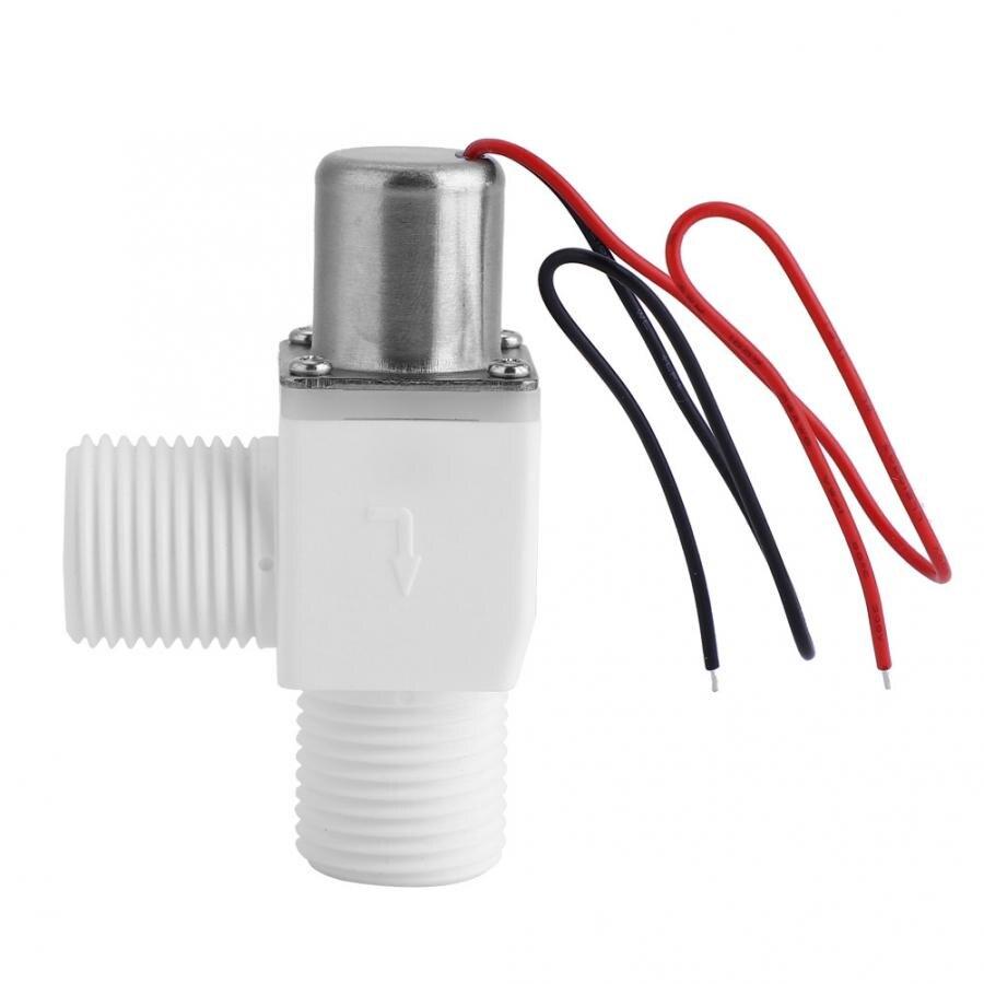 "Válvula de descarga Manual de plástico electrica de pulso para Control de agua 3.6VDC 1/2 ""electrico Magnetic valvula"