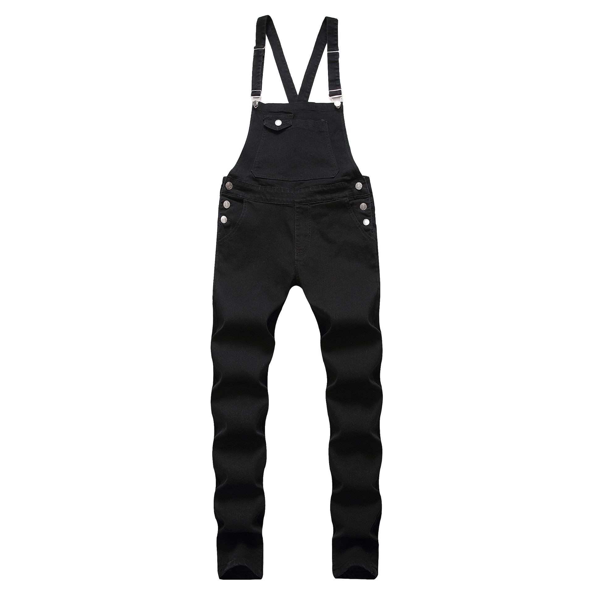 Pontalon Homme Jean 2019 Denim Overalls Men Worn Out Jeans Men Stretch Men's Sling Denim Romper Bib Spodnie Meskie Jeans Mens