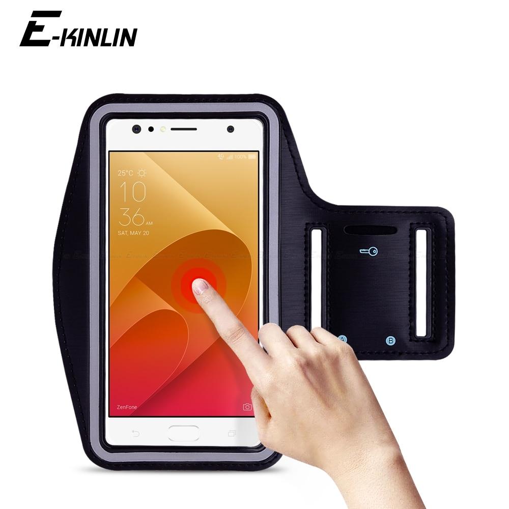 Correr Desporto Ginásio Arm Band Para Asus ZenFone 4 Selfie Lite Pro ZB553KL ZB520KL ZD553KL ZD552KL ZD551K Caso suporte Do Telefone cobrir