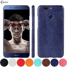 Leather Case for Huawei Honor 8 Pro DUK-L09 Honor8 Pro DUKE-L09 Phone Bumper Fitted Case for Huawei Honor V9 V 9 DUK L09 Cover