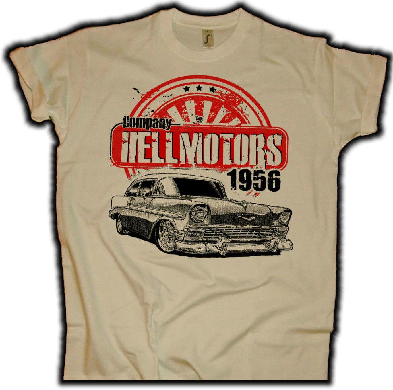 Модная мужская футболка, бесплатная доставка, Chevy 56 Sand US Muscle Car Herren, футболка V8 Hot Rod Drag racing Oldschool, летняя футболка