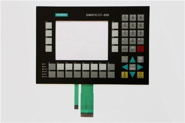 6ES7626-2DG04-0AE3 6ES7 626-2DG04-0AE3 غشاء لوحة المفاتيح ل SIMATIC C7-626 إصلاح ، دينا في المخزون