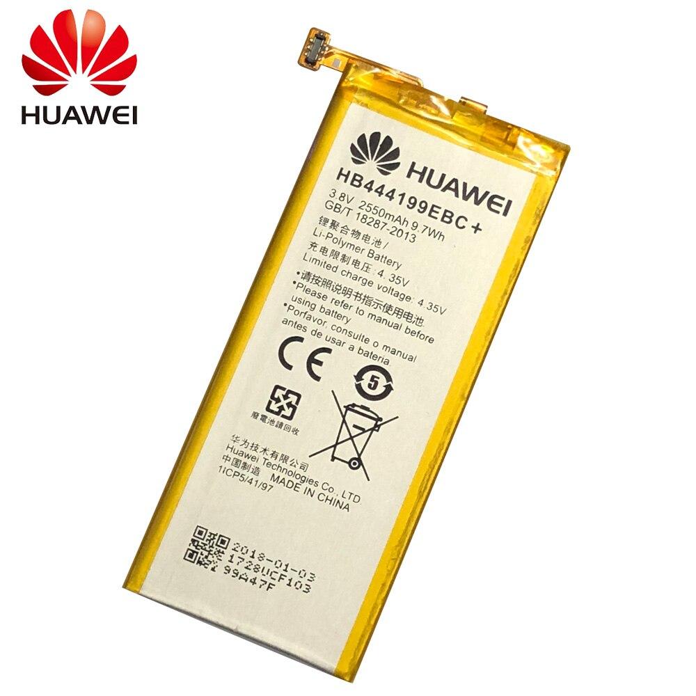 מקורי באיכות גבוהה 2550mAh HB444199EBC סוללה עבור Huawei Honor 4C C8818 CHM- CL00 CHM-TL00H CHM-UL00 chm-u01 G לשחק מיני