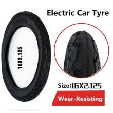 Neumático grueso 16X2.125 16 pulgadas * 2.125 neumático eléctrico del coche eléctrico y neumático de la batería de la motocicleta