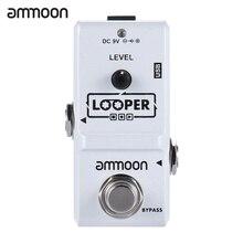 Ammoon AP-09 Loop Chitarra A Pedale Looper Chitarra Elettrica Effetti A Pedale True Bypass Illimitato Overdubs 10 Minuti di Registrazione