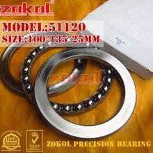 ZOKOL-roulement à billes 51120 poussée   8120 100*135*25mm
