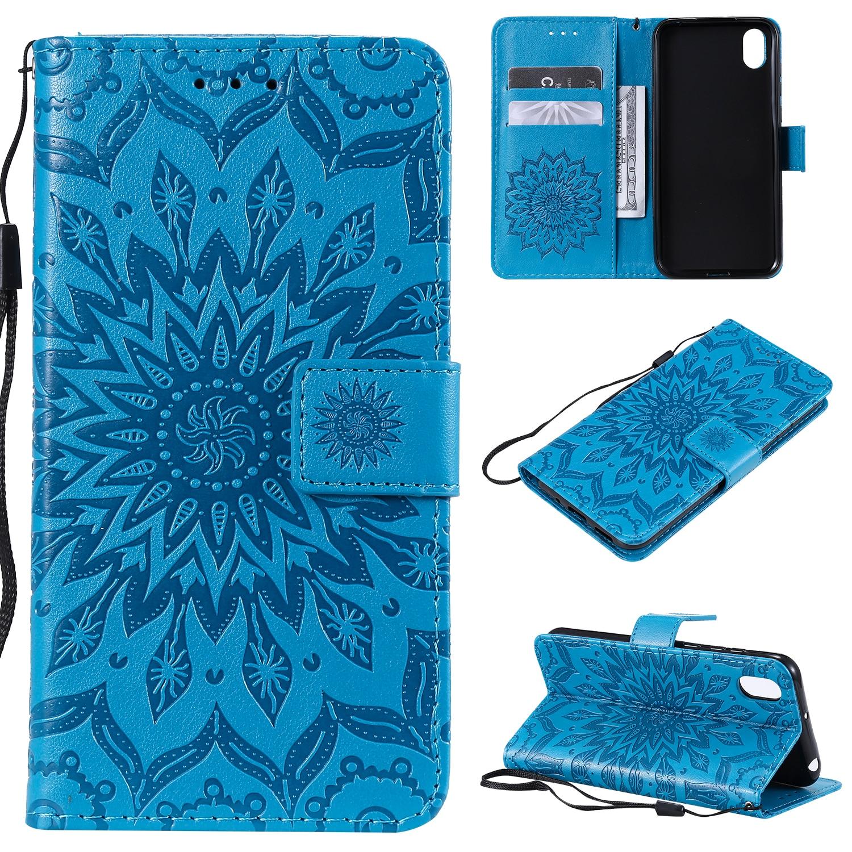 For Huawei Y5 2019 Flip Case Funda Huawei Y5 2019 Case Luxury 3D Embossing Wallet Leather for Haiwei Y 5 2019 5Y Case Cover