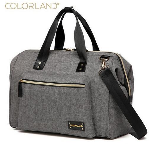 Colorland bolsa de pañales grande organizador bolsas de pañales bolsas de maternidad para la madre bolsa de bebé cochecito dipaer bolso bolsa