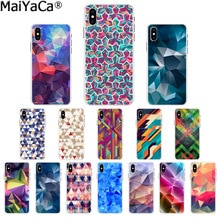 MaiYaCa Geometry Pattern Pattern TPU Soft Phone Accessories Cell Phone Case for iPhone 6S 6plus 7 7p