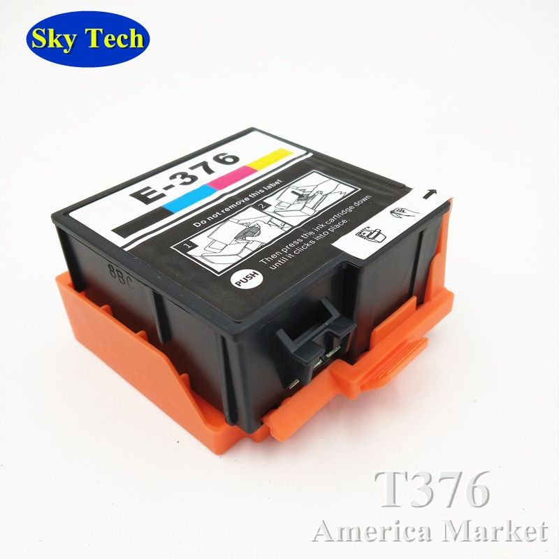 T376 Quality Compatible Ink Cartridge For Epson PictureMate PM-525 . T376 / T3760 / E-376 For PM525