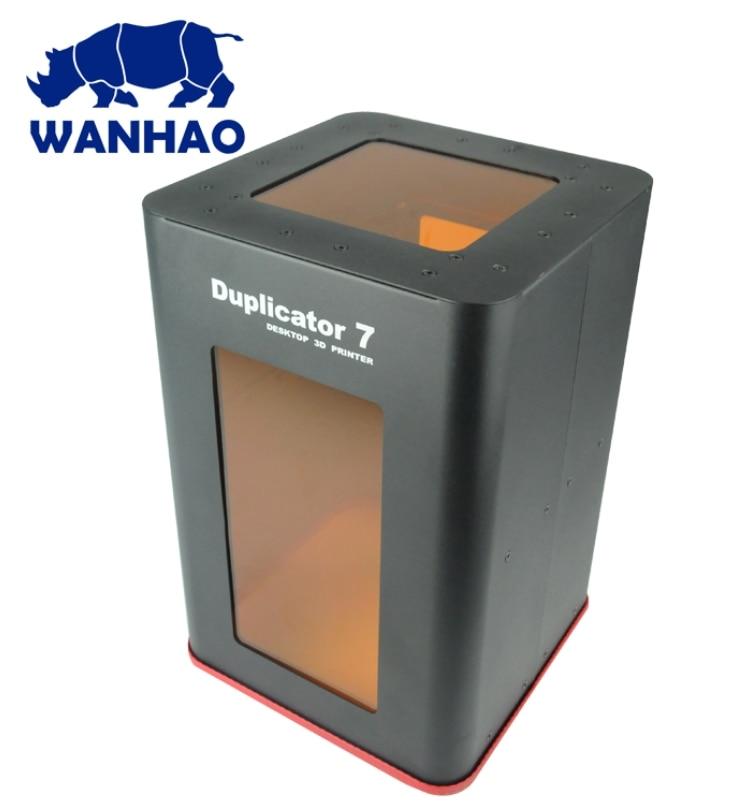 2018 WANHAO جديد الأصلي غطاء شفاف ل D7 و D7 زائد