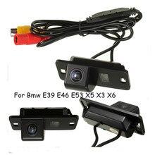 العلامة التجارية الجديدة سيارة 170 درجة عكس الكاميرا كاميرا الرؤية الخلفية CCD لسيارات BMW 3/7/5 سلسلة E39 E46 E53