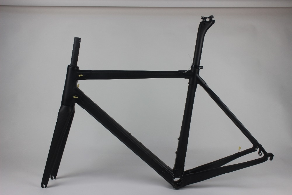 2019 Cuadro De Carbono bicicleta de carretera T1000 Marco de bicicleta de fibra de carbono negro rojo color marco bicicleta carbone, más 25 colores