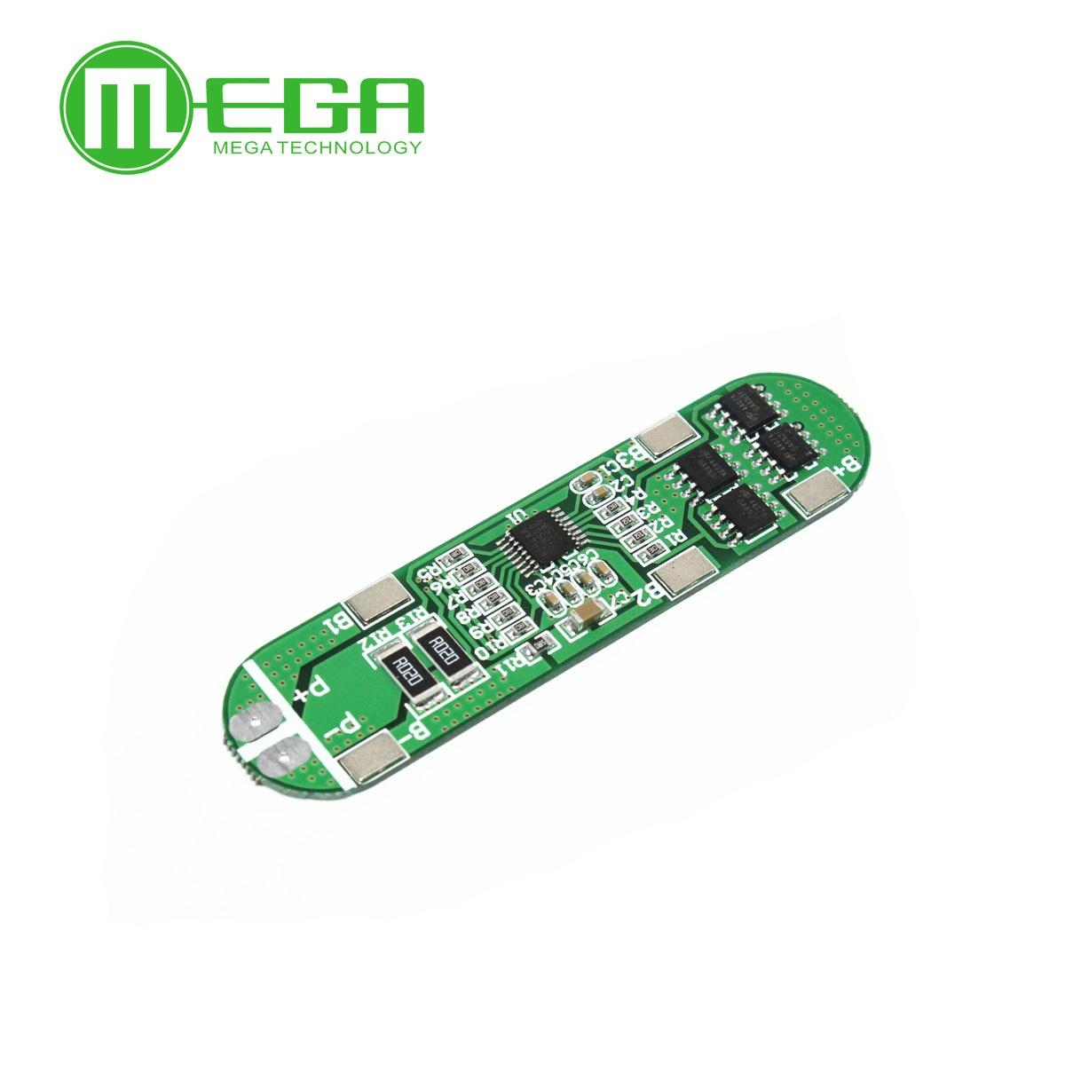 5 pièces/lot 4A-5A PCB BMS carte de Protection pour 4 paquets 18650 Li-ion batterie au lithium cellule 4S