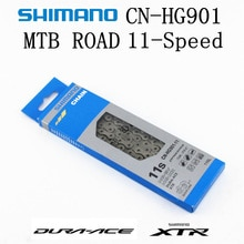SHIMANO DURA-ACE XTR HG901 HG900 zincir 11-Speed dağ bisikleti bisiklet zinciri DURA ACE CN-HG901 MTB yol bisikleti HG-X SIL-TEC zincirleri