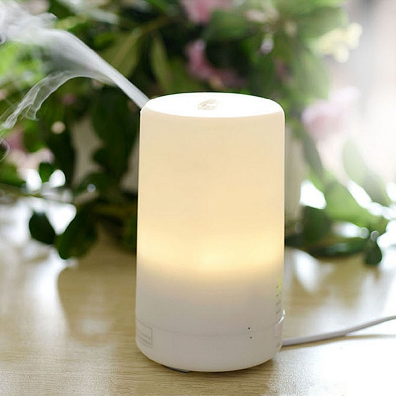 3 en 1 LED luz nocturna USB aceite esencial ultrasónico aromaterapia protección humidificador de aire seco difusor de fragancia eléctrica 2019