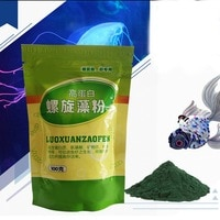 50/100g Ornamental Shrimp Open Feed Algae Fish Forages Spirulina Powder bottle Healthy Ocean Nutrition Fish Food