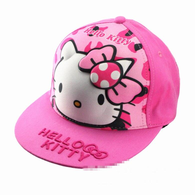 Nueva gorra infantil 3D Hello kitty Girl yey-5659