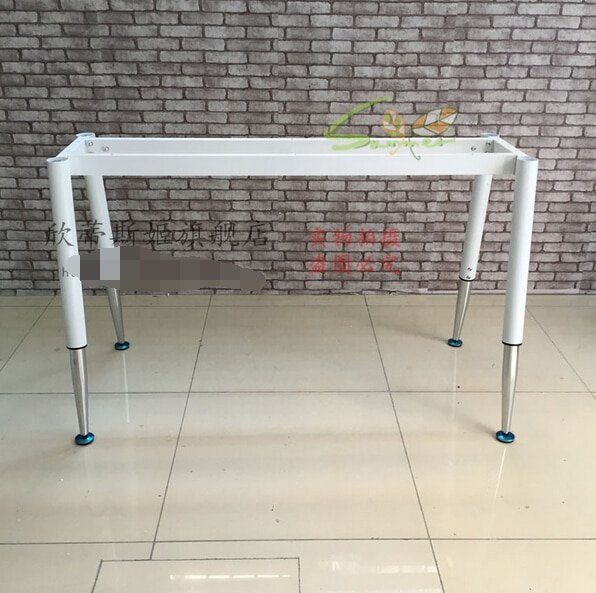 Training table stents. The desk legs pipe feet. foot rack, dismantling the leg
