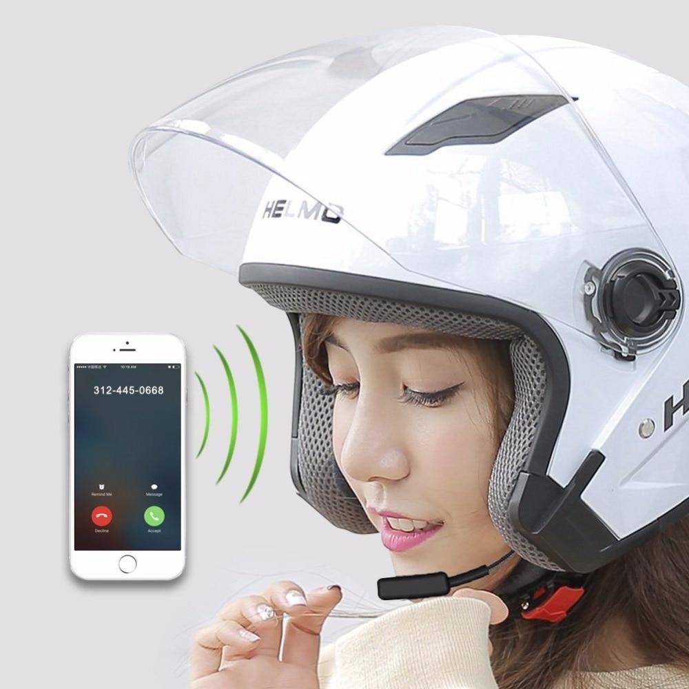Casco de la motocicleta auriculares Bluetooth inalámbricos en manos libres para Moto de esquí casco de la motocicleta intercomunicador de Bluetooth Moto