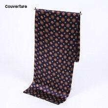 Couverture longue foulard homme   Écharpe en soie de marque de luxe, accessoires de mode, écharpe homme en soie, Cravat gland bandana, automne hiver