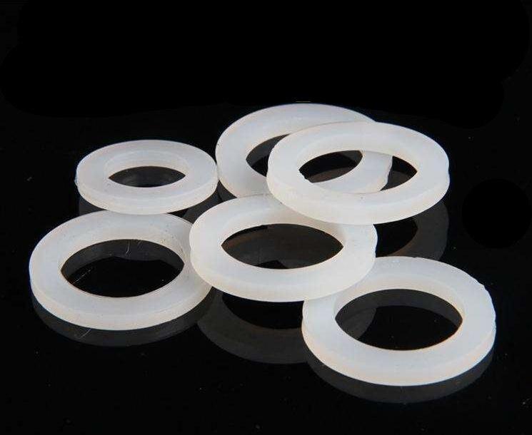 "10 adet o-ring SU ISITICI oluklu boru mühür 1/4 ""3/8"" 1/2 ""3/4"" 1 ""1.2"" 1.5 ""2"" silikon sızdırmazlık düz conta yıkayıcı"