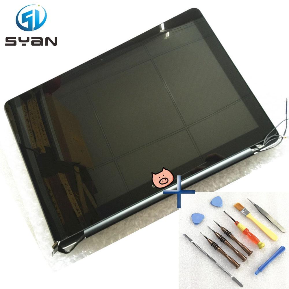 Montaje de pantalla LCD A1278 para Macbook Pro 13,3, conjunto de pantalla LED LCD 2012 año