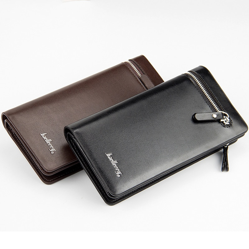 Coin purse new clutch bag long men's wallet zipper handbag hand 2019 explosion models