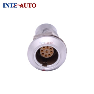Equivalent industrial M9 round connector, 9 pin female water vacuum sealed female receptacle,circular push pull,HMGG.0B.30P