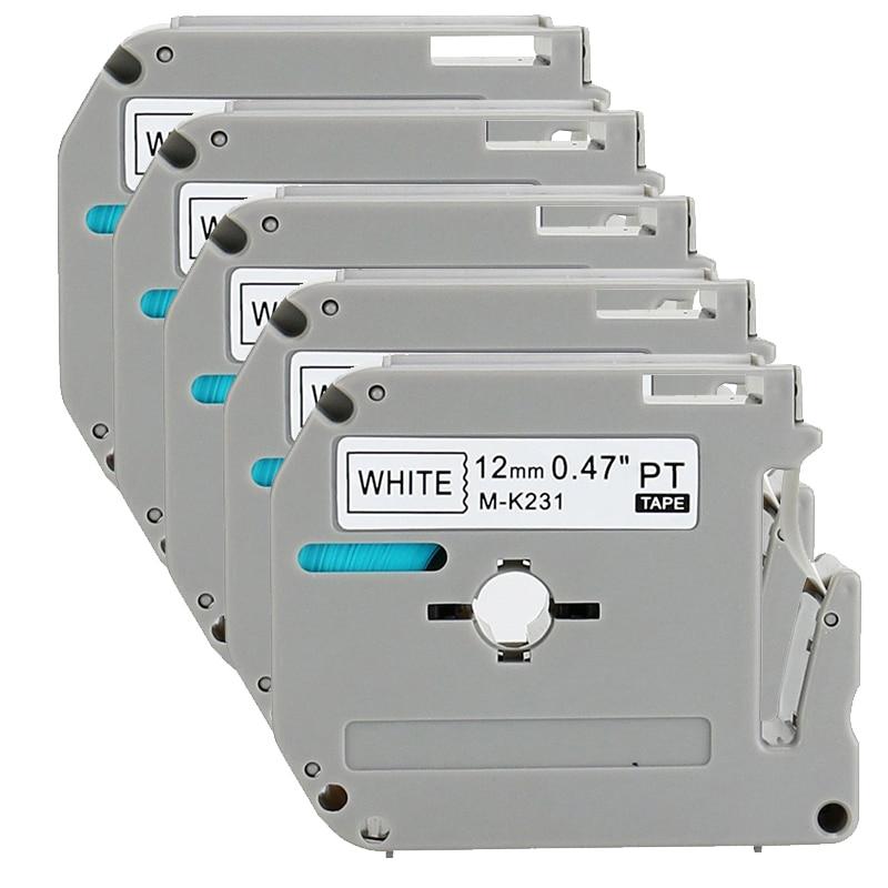 15PK متوافق الأخ ف اتصال M231 MK231 M-k231 شريط ملصقات (0.47