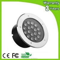 (4PCS/Lot) Warranty 3 Years 12W 18W 36W RGB LED Underground Lamp Flood Buried Wall Washer Spot Light
